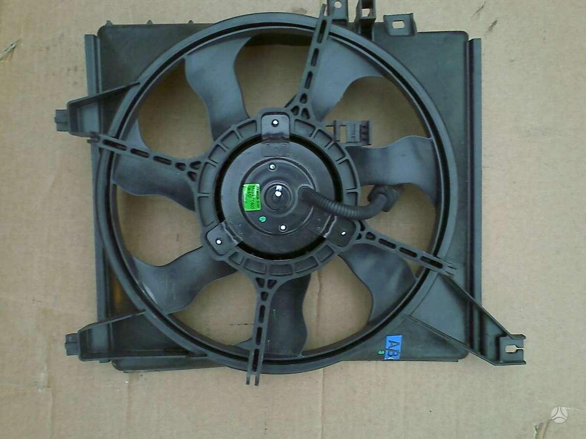 Hyundai Getz ventiliatorius