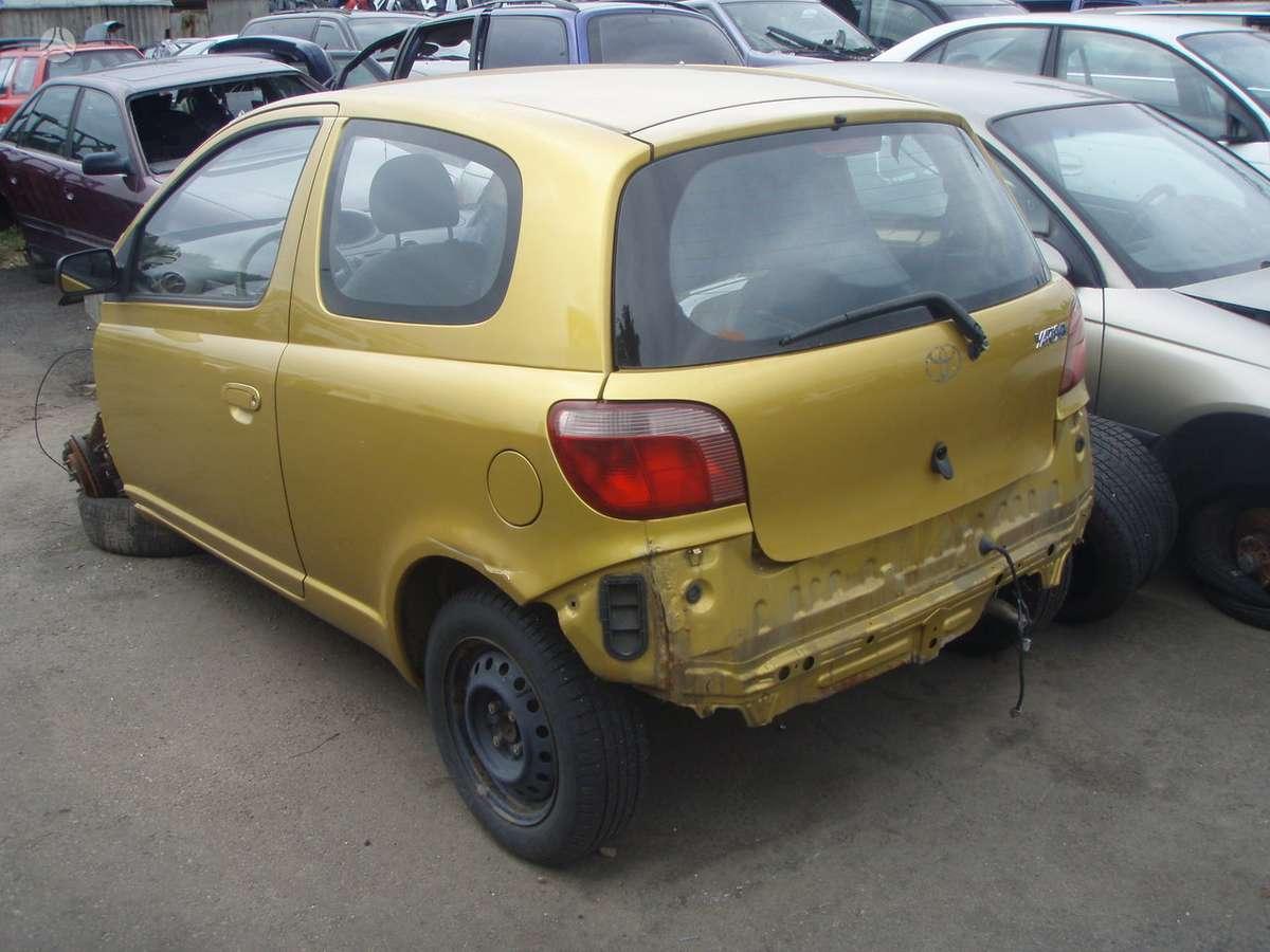 Toyota Yaris. dalimis.uab