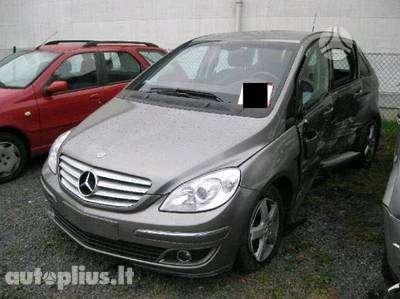 Mercedes-Benz B200. Dalimis pagaminimo data: 2005-06  rida, km: