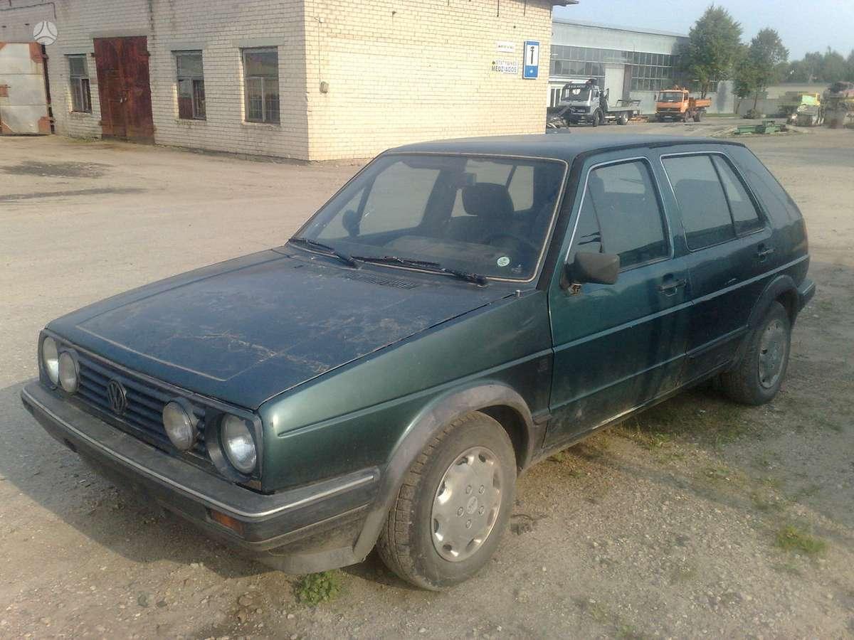 Volkswagen Golf dalimis. Dyzelis,benzinzas.1,6 1,8.su