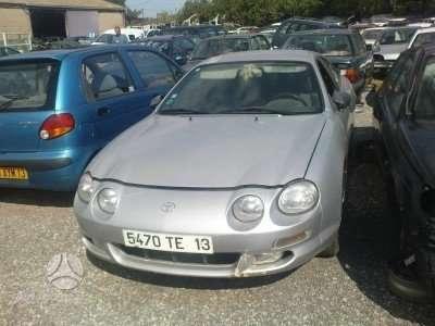 Toyota Celica dalimis. Variklio kodas 7a fe 85kw iš prancūzijos.