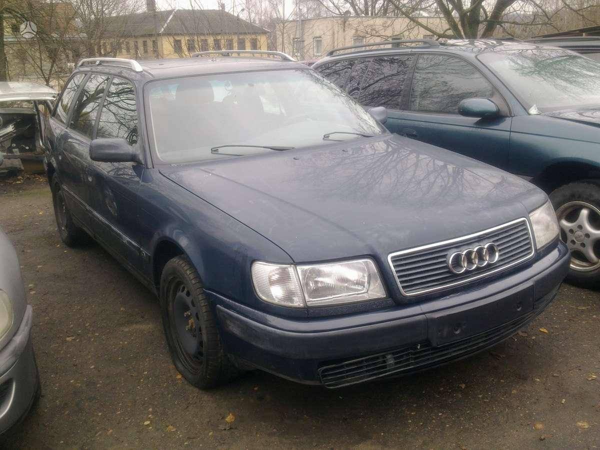 Audi 100 (C4). Naudotos automobiliu dalys japoniski ir vokiski