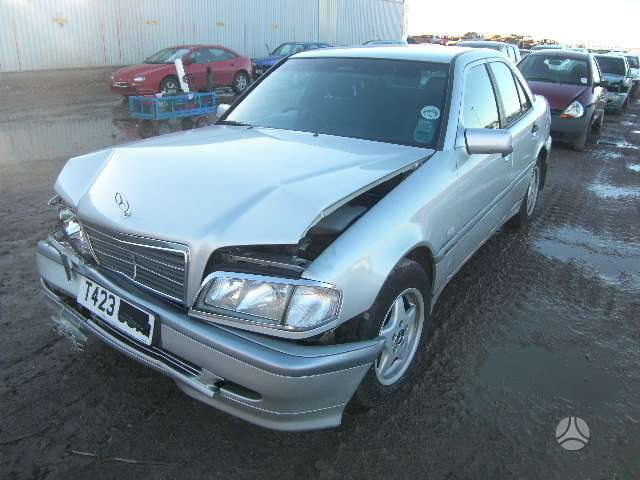 Mercedes-Benz C220. Mb 220 cdi dyzelis 2,2 variklis , automatinė