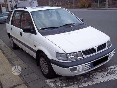 Mitsubishi Space Wagon. Japoniski ir korejietiski  automobiliai