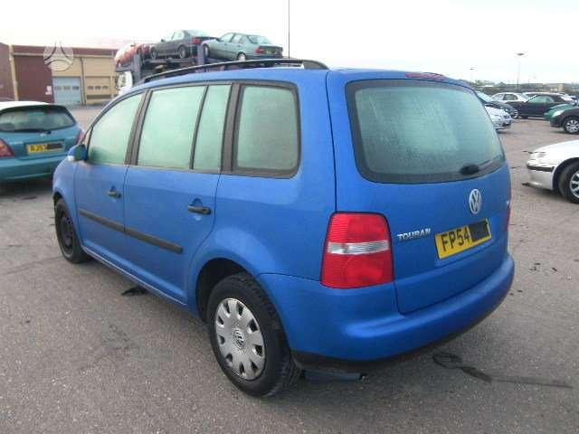 Volkswagen Touran. Turime1.9 ,2.0 dizelines  ir 1,6 benzinine