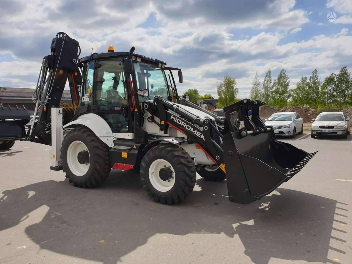 Hidromek HMK 102B, excavator loader