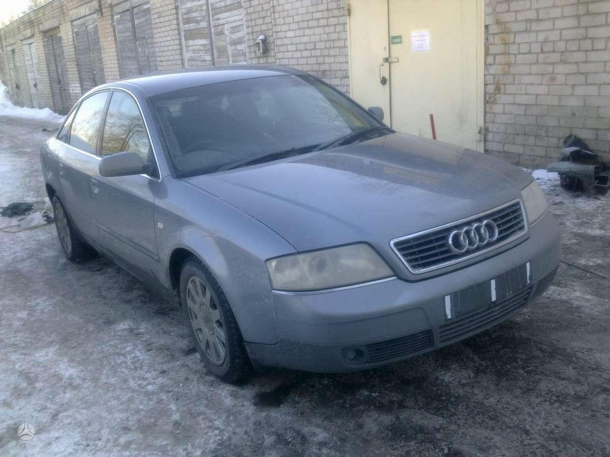 Audi A6. naudotos automobiliu dalys japoniski ir vokiski