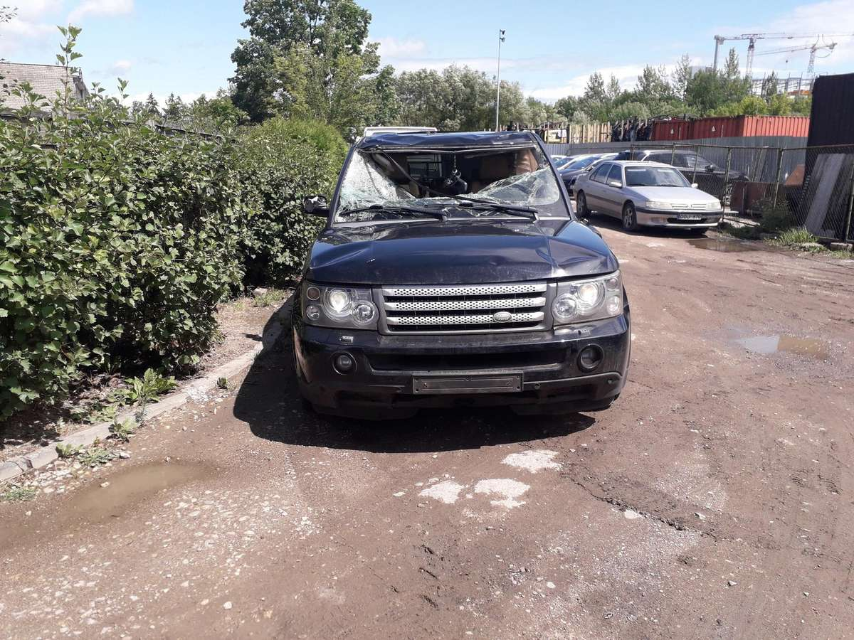Land Rover Range Rover Sport. Variklis geras