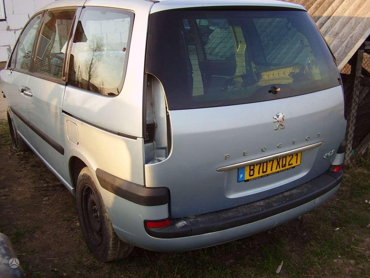 Peugeot 807. Yra daugiau ardomu auto ir varikliu taip pat yra 2.