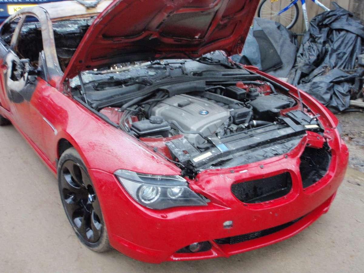 BMW 6 serija. Bmw 630i 2006m. bmw 630i cabrio 2006m.  bmw 645