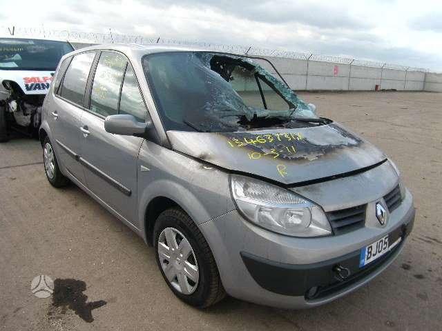 Renault Scenic. Serviso paslaugos (variklių, važiuoklės keitimas