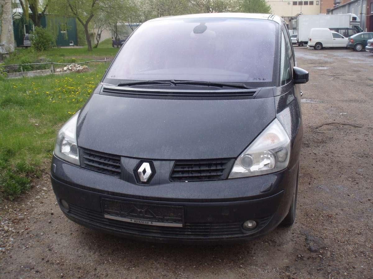 Renault Espace. Nupirkta detale galime pakeisti musu servise.