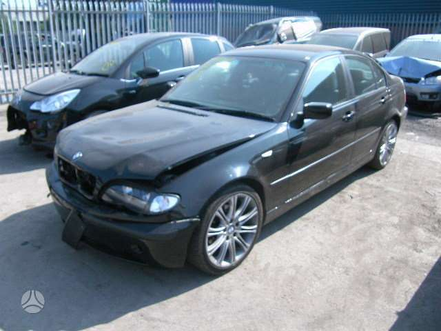 BMW 320. Bmw 320d 2003m. 6 pavarų mechaninė dėžė, lieti ratai,