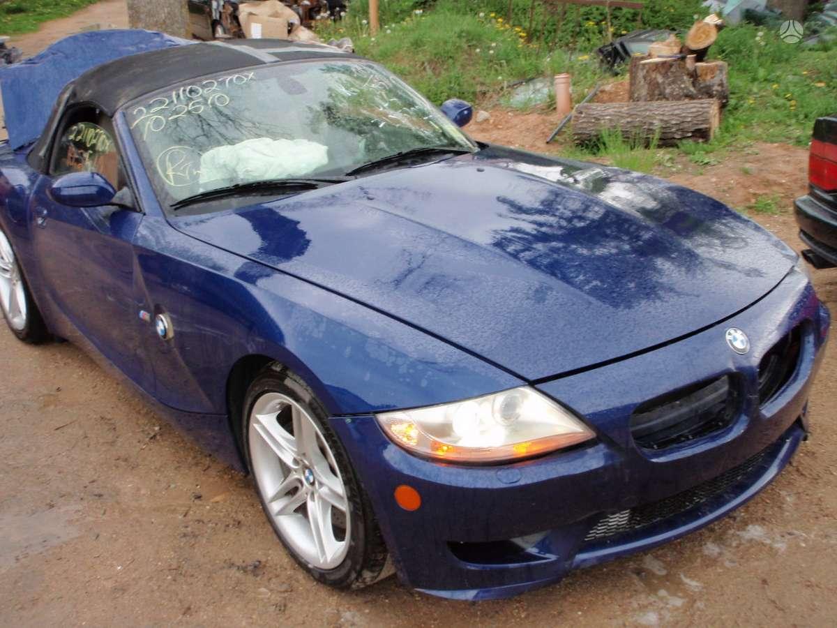 BMW Z4 dalimis. Bmw z4 2,5i 2003m. dalimis bmw z4 mroadster