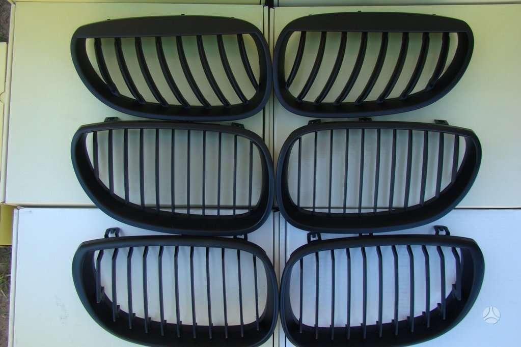 BMW 5 serija. tuning dalys. groteles bmw e60 03-10m [juodos