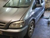 Opel Zafira. Naudotos autodalys darbo laikas pirmadienis