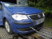 Volkswagen Touran for parts. 1.9 mech anglas dalimis