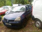 Renault Clio dalimis. Variklis 1.2  16 vožtuvų d4f 706 75 arkl...