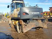 Volvo EW140C, экскаваторы