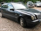 Mercedes-Benz E klasė dalimis. Daliu pristatymas i  kitus