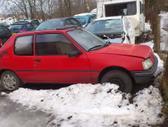 Peugeot 205 dalimis. Iš prancūzijos. esant galimybei,