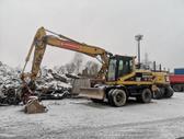 Caterpillar M315, excavator