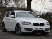 BMW 116. Anglas