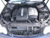 Mercedes-Benz C270. Odinis salonas, lieti ratai,cd grotuvas, yra