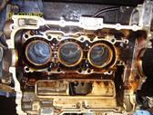 Porsche Boxster variklio detalės
