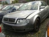 Audi A4. Variklis ardomas dalimis.yra navi(mazoji), sildomos