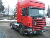 Scania 124-420 1400 litru kuro bakai, semi-trailer trucks