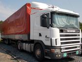 Scania 124-400   1400 litru  bakai, semi-trailer trucks