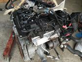 BMW 320. Tik variklis ir aplink ji.