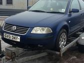 Volkswagen Passat. Vw passat, 2001 m., 2,0 benzinas, 4/5 durys...