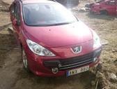 Peugeot 307. Europa. galime detales siūsti į kitus miestus.