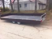 Baltic trailer B2K-5000x2, lengvųjų automobilių priekabos