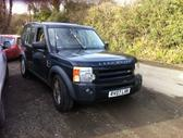 Land Rover Discovery dalimis. 2.7 dyzelis