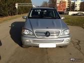 Mercedes-Benz ML klasė dalimis