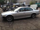 BMW 740. Bmw 740 2000 m, lieti ratai r18, odinis rekaro salona...