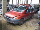 Fiat Multipla. Su duju iranga