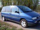 Fiat Ulysse. Automobilis is vokietijos.rida tik 170 t. 2.0 tur...