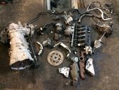 BMW X5. Viskas aplink variklį, greičių dėžė (6hp-28x) , rida 1...