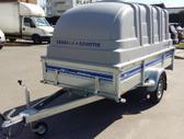 Tiki Treiler CS300LH+GAUBTAS, lengvųjų automobilių priekabos