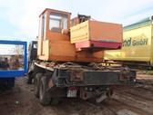 Kamaz 53212, crane