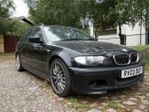 BMW 330 dalimis. Bmw e46 330d 2003m. m-tech   spalva:black