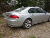 BMW 730 dalimis. Bmw e65 730d 2006m.  spalva: titansilber