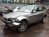 BMW X3. Bmw x3 2006m. automatinė pavarų dėžė, odinis salonas,