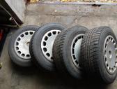 BMW R15 Aliuminiai ratai, plieniniai štampuoti, R15