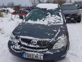 Lexus RX 350 dalimis. Automobilis ardomas dalimis:  запасные ...
