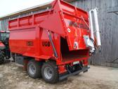 -Kita- Grūdų ir kitų birių produktų puspriekabė, traktorinės p...